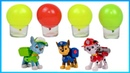 Learn colors with kids toys paw patrol pj masks tayo little bus nursery rhymes