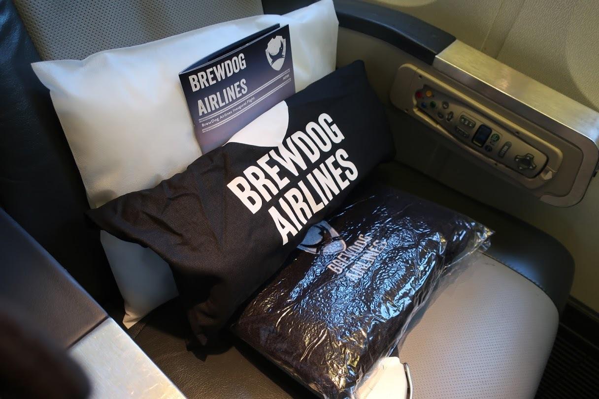 На авиарейсе BrewDog переполнились туалеты и почти закончилось пиво