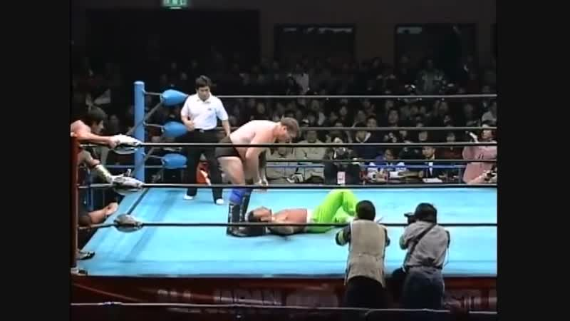 1996.11.30 - Stan Hansen/Takao Omori vs. Gary Albright/Sabu [FINISH]