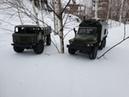 WPL Truck Ural and GAZ. URAL 4320, GAZ 66. Катаем ВПЛ Шишигу и Урал.