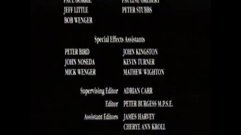 Movie End Credits 343 Quigley Down Under