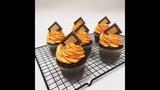 Кондитерская школа. Занятие № 6 I Шоколадные капкейки с апельсиновым конфитюром orange cupcakes