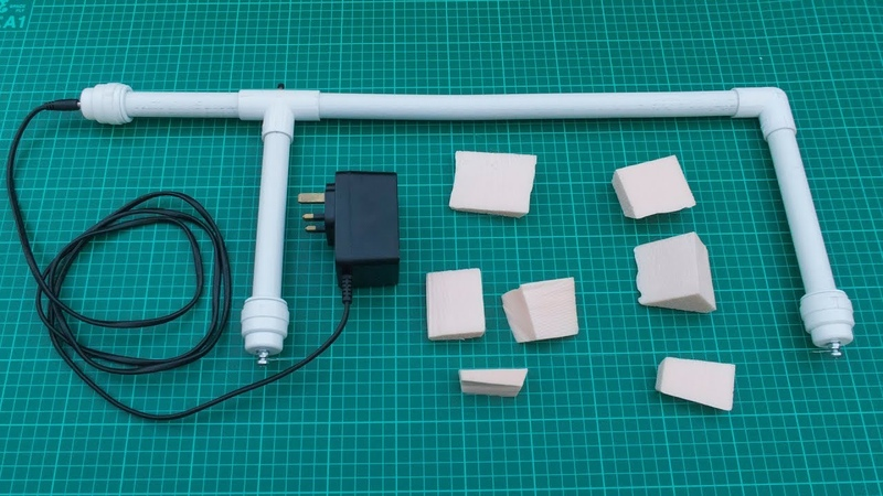 Homemade Styrofoam hot wire cutter