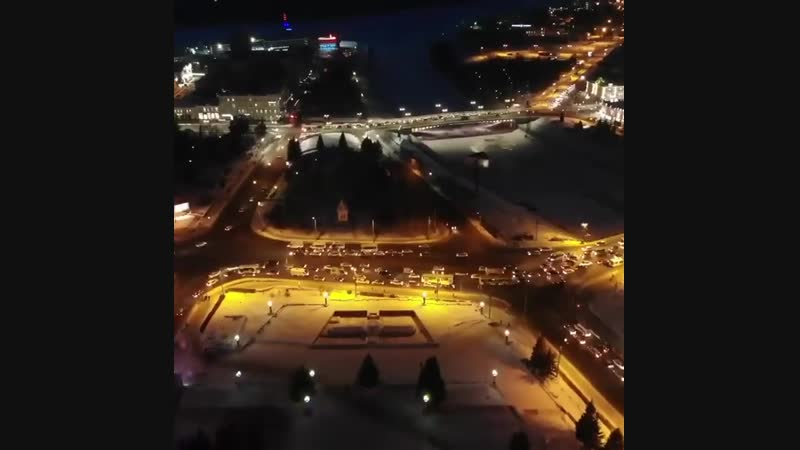 Omsk Russia с высоты