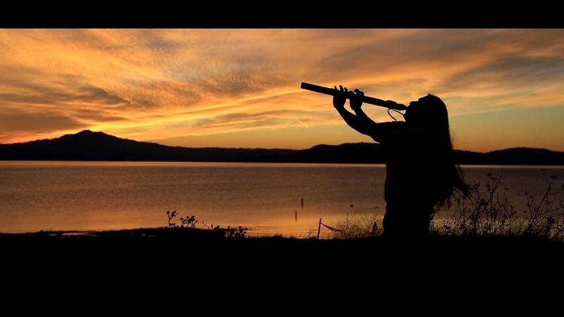 Ancientwinds flutes Sunset Jose Cabezas Native Flute