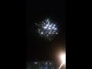 Запуск фейерверка на свадьбе кафе Лимончело 29.09.2018