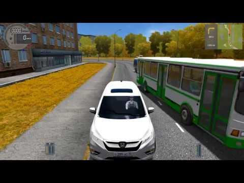 City Car Driving - Honda Odyssey | Fast Driving