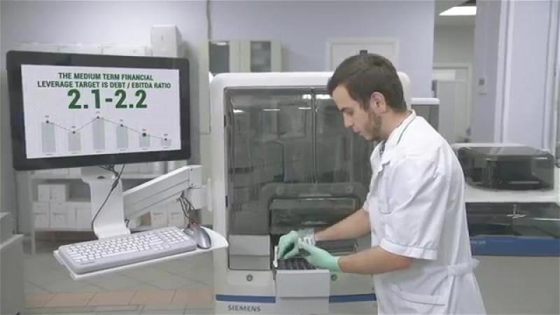 Видеофильм на английском языке для лаборатории «Гемотест»
