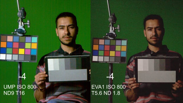 Panasonic EVA1 - Ursa Mini 4.6K Comparison