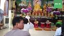 Chư tăng cùng Phật tử TX Lộc Uyển Tịnh Thất Kỳ Viên đi cúng dường mùa an cư kiết hạ