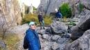 Ялта НОВАЯ СВАЛКА под носом и КРАСОТА у дороги Аянские скалы Никитская расселина Крым сегодня