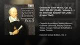Geistliche Chor-Music, Op. 11, SWV 369-397 (1648) , Volume 1 I. Es wird das Szepter von Juda...