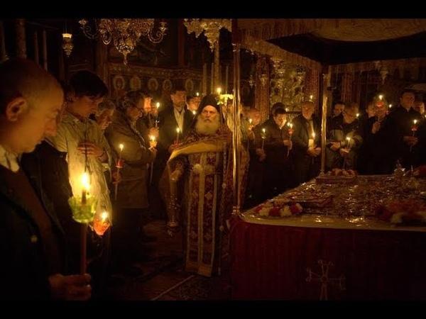 Пасха - 2018 на Афоне монастырь Ватопед
