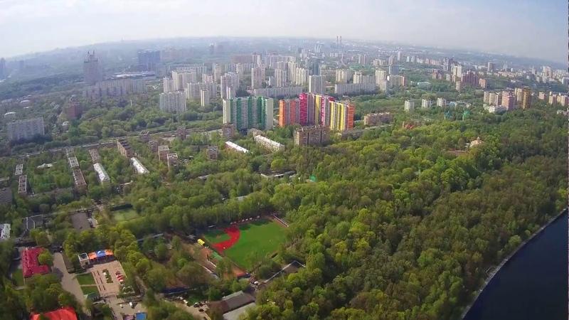 Москва с высоты. Филевский парк