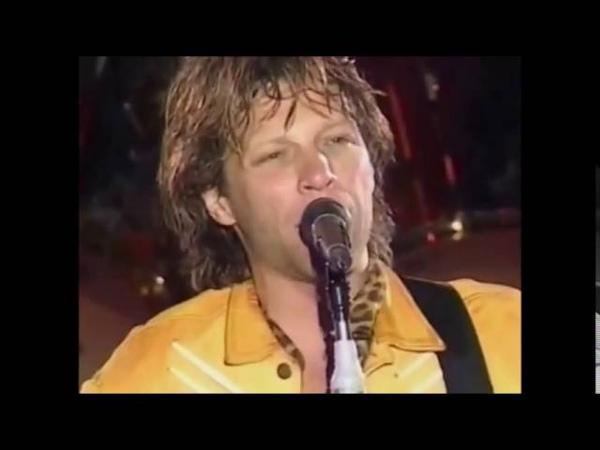 Bon Jovi - I´ll Be There For You(Live At Yokohama 1996 These Days Tour)