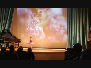 Усольцева Мария, вариация фея Сирени из балета Спящая красавица