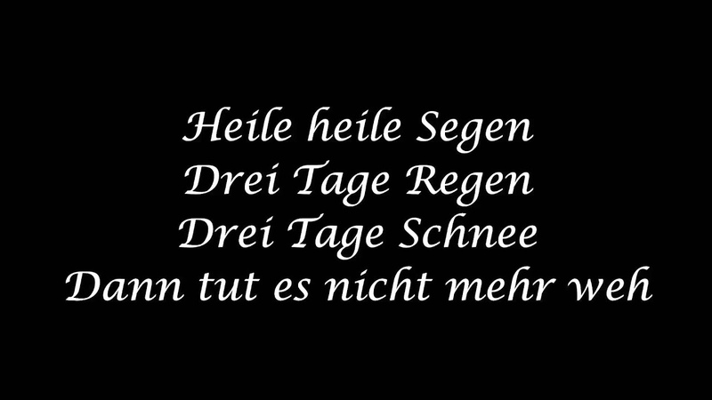Mono Inc - Heile heile Segen lyrics