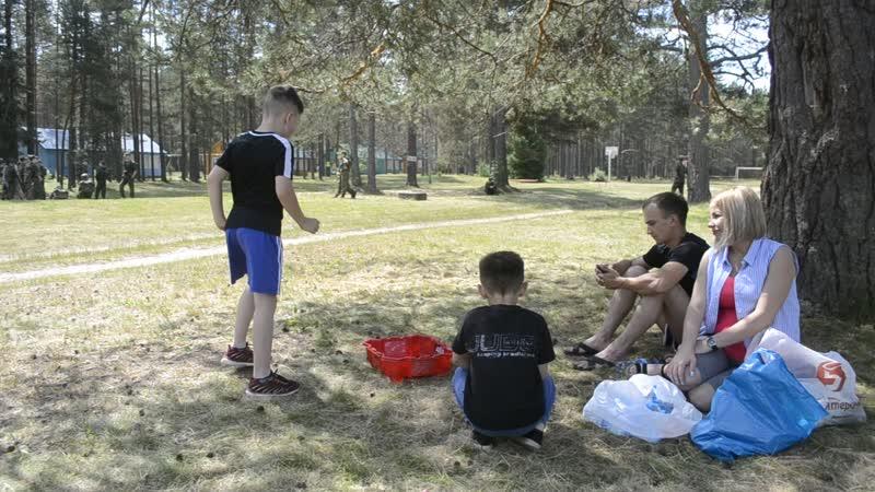 Наш Саша в лагере Дружба. 20.06.19г
