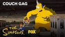 Treehouse Of Horror XXIV Couch Gag By Guillermo Del Toro | Season 26 | THE SIMPSONS