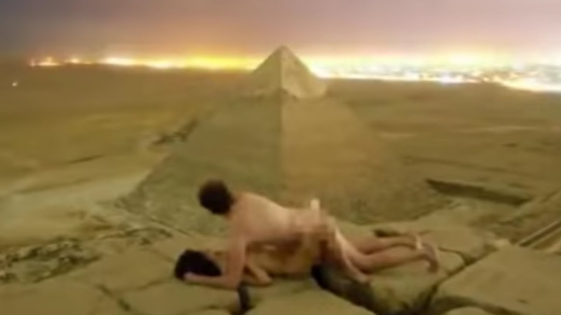 DANISH COUPLE HAS SEX ON TOP OF PYRAMID IN EGYPT