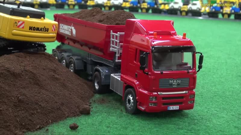 AWESOME SCALE MIX! RC Tractors, Trucks and more!