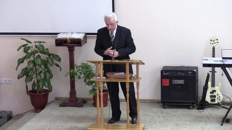 Субботнее Богослужения 28.01.2017 г. Проповедует Павел Кацель