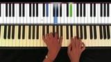Chopin Nocturne opus 9 no 2, easy piano 2