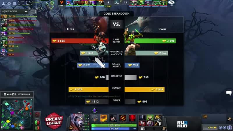 MUST SEE! Evil Geniuses vs Virtus.pro, DreamLeague Season 11 Major, bo3, game 2 [4ce Lex]