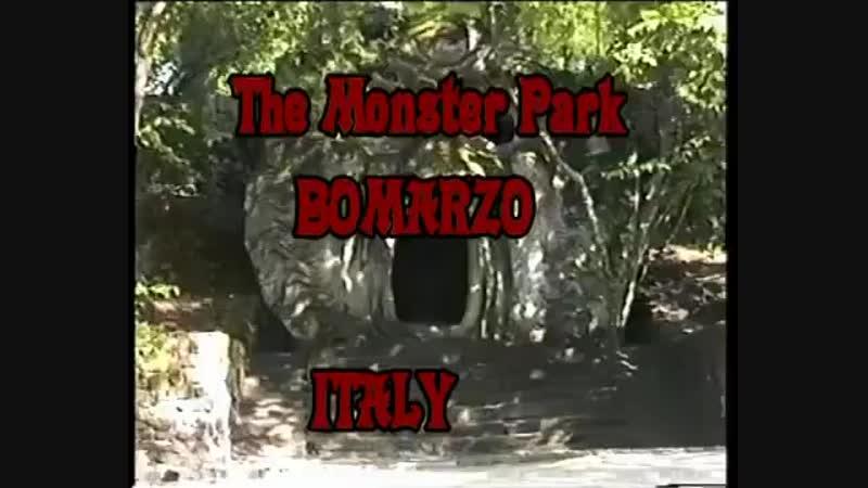 Италия «Парк монстров» (Parco dei Mostri) или «Священный лес» (Sacro Bosco), Бом
