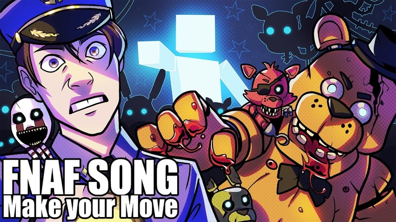 FNAF ULTIMATE CUSTOM NIGHT SONG (Make Your Move) LYRIC VIDEO - Dawko CG5