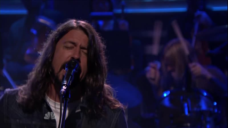 Foo Fighters - I Am A River (Tonight Show Jimmy Fallon ) 2014 1080i