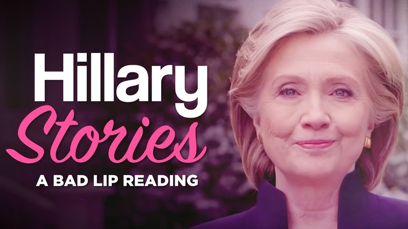 HILLARY STORIES — A Bad Lip Reading of Hillary Clinton
