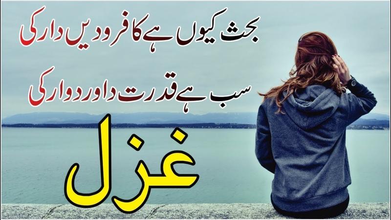 Urdu Hindi Poetry Shayari Ghazals Collection | Best Poet's Poetry | Sad | Love | Memorable Shayari