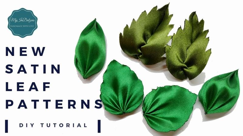 D.I.Y. New Satin Leaf Patterns | MyInDulzens