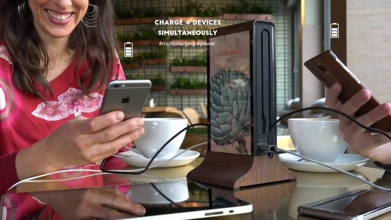 Станция для зарядки телефонов для кафе, ресторанов DREAM