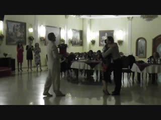 Милонга 21.10.18 Выступление Дмитрия и Ольги. Ресторан Империя