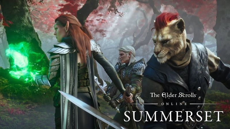 The Elder Scrolls Online Summerset - Official Cinematic Trailer (PEGI)