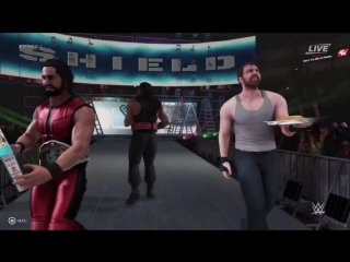[WWE] WWE 2K19 entrance mashup: The Shield as The New Day