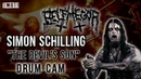 Simon Schilling [Belphegor] - The Devil's Son (Live at The Mod Club, Toronto, ON, 2017) [DrumCam]