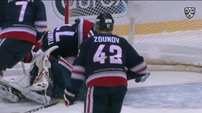 Бой КХЛ: Якимов VS Чмыхов