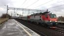 ЭП20-015 с поездом Лев Толстой (4К)