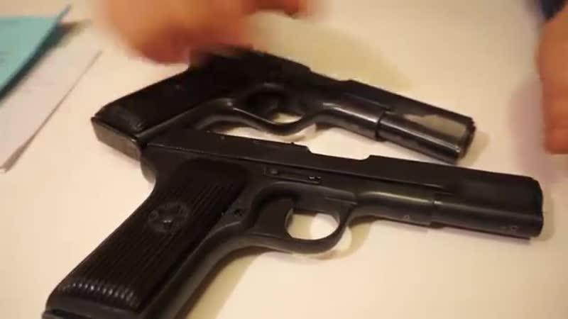 ТТ СХП (Охолощенный Тульский Токарев) ТТ-СО И ТТ-СХ Обзор и стрельба