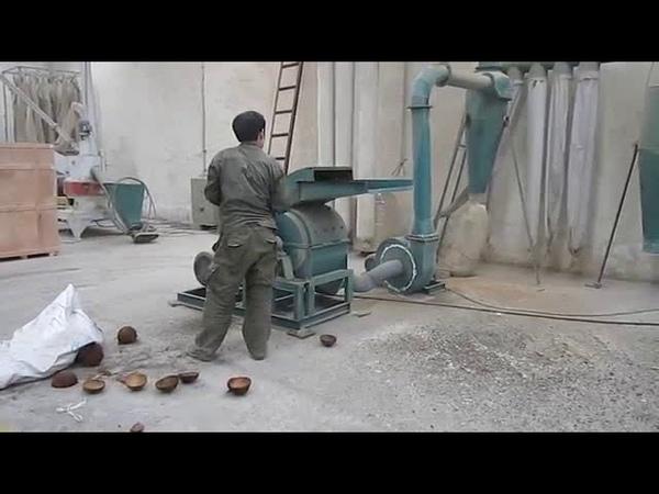 Coco nut shell crushing machine ,sawdust making machine for pellet