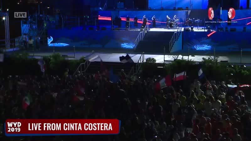 Концерт Siervas на ВДМ 2019 в Панаме