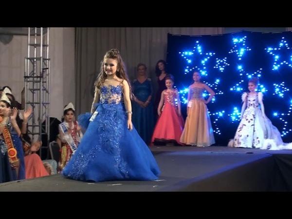 Miss RS Infantil 2017 (Desfile Traje de Gala Baby, Mini, Mirim, Infantil)