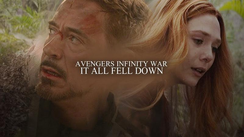 Avengers Infinity war It all fell down