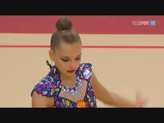 Арина Аверина мяч (AA) — Гран-При 2019 / Россия, Москва