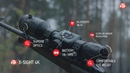 ATN X-Sight 4K BuckHunter - Smart Ultra HD Daytime Hunting Rifle Scope with camera