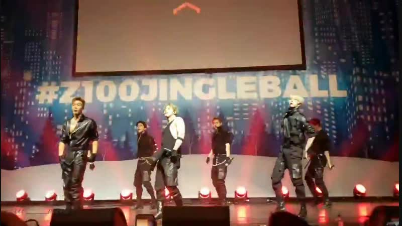 [VK][181207] MONSTA X fancam - Be Quiet @ Pepsi x Jingle Ball All Access Lounge in New York