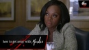 Annalise's Negotiations How To Get Away With Murder